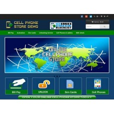 Turnkey Online CELL PHONE STORE with Bill Pay Deaer Code
