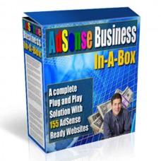 TURNKEY WEBSITE -  Adsense Business In-A-Box- Complete Adsense Pure Profit Pak