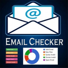 EMAIL VERIFICATION CHECKER  |  EMAIL BOUNCE CHECKER  |  MAILING LIST VALIDATOR