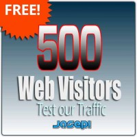 500 US Organic Visitor - FREE to test our service