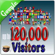 10000 REAL VISITORS FROM GOOGLE LOCAL SEARCH ENGINE TO YOUR WEBSITE