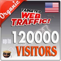 TOP QUALITY NON STOP ORGANIC USA TARGETED WEB TRAFFIC