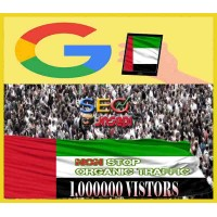 30K ORGANIC UAE WEB TRAFFIC  - KEYWORD TARGETED - UNITED ARAB EMIRATES