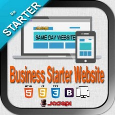 WEB DESIGN - BUSINESS STARTER- Same Day Website for Business Owners for $99