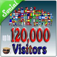 10000 REAL VISITORS FROM SOCIAL MEDIA USERS TO YOUR WEBSITE