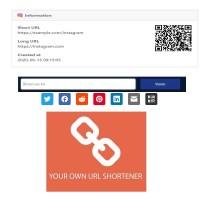 TURNKEY WEBSITE - SHORTENER URL with Admin control- Instant Download