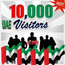 "10K ORGANIC UAE WEB TRAFFIC DIRECT FROM  ""GOOGLE.AE"" - UNITED ARAB EMIRATES"