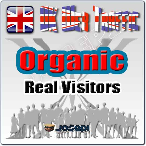 unlimited visitors to your website from UK