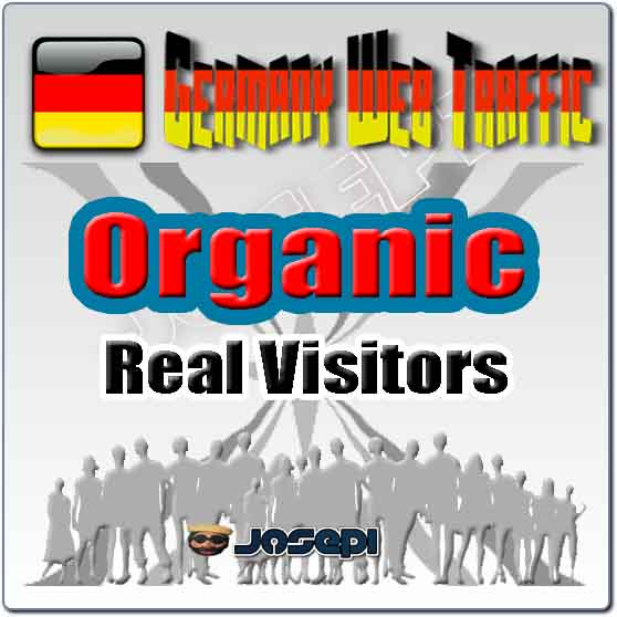 unlimited visitors to your website from Germany