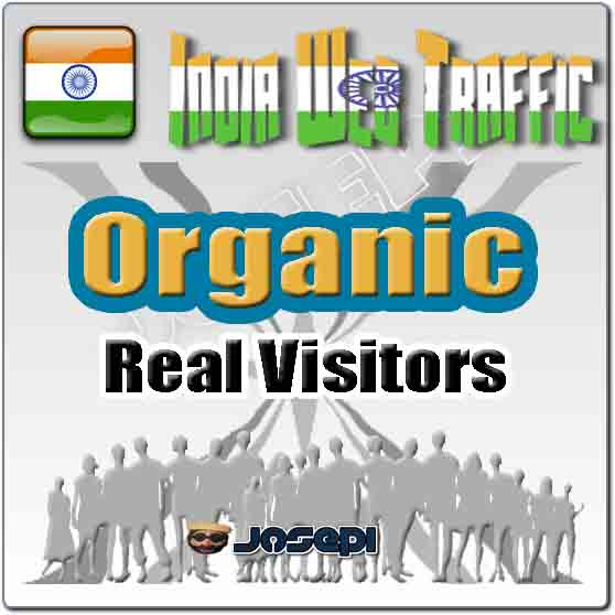 unlimited visitors to your website from India