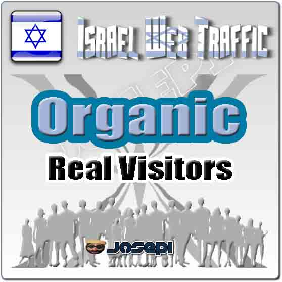 unlimited visitors to your website from Israel