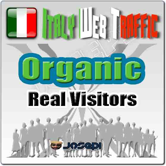 unlimited visitors to your website from Italy