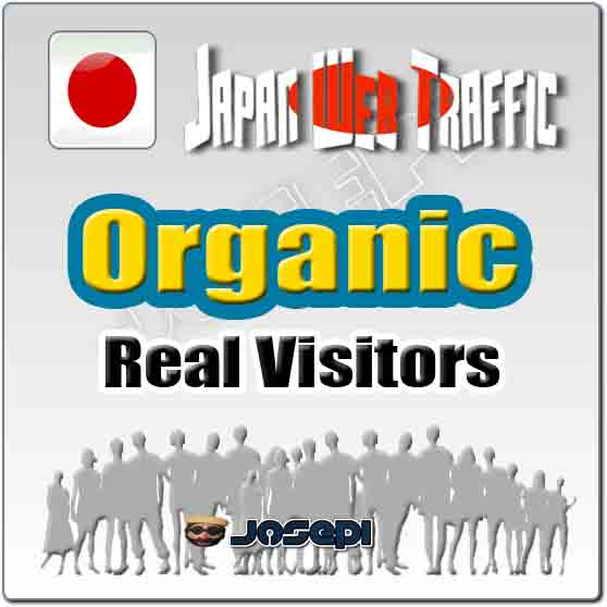 unlimited visitors to your website from Japan