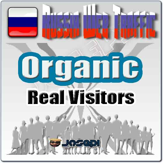 unlimited visitors to your website from Russia