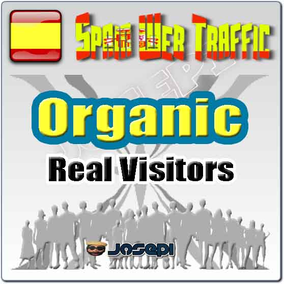 unlimited visitors to your website from Spain