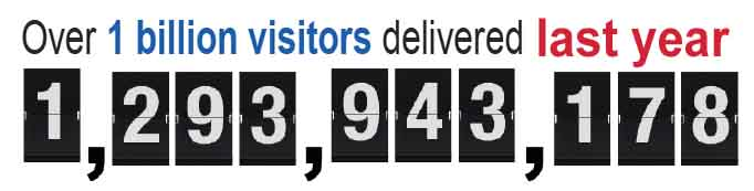 billion web visitors